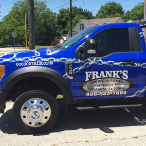 Vehicle wraps and lettering